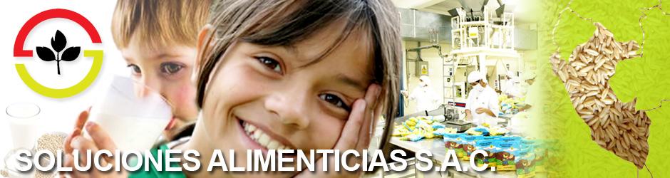 SOLUCIONES ALIMENTICIAS SAC